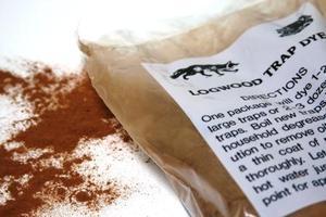 Logwood trap dye